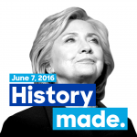 History is made: Congratulations, Hillary!